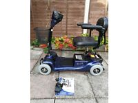 RIO 4 Plus mobility scooter lightweight / 4 mph / foldable **can deliver**