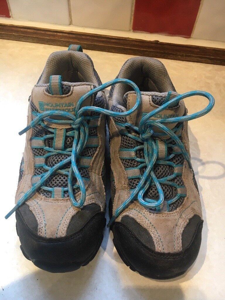 6ef65edc20 Mountain warehouse Waterproof Walking Shoes Size 2 VGC. Newport £5.00