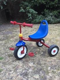 Retro Kids Trike Radio Flyer fold to go Kids bike