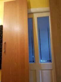 2 Doors Ikea Pax and handle