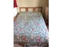 Double bed for sale less than a year old