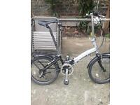 Nice aluminium Apollo transition folding bike. Sensible offers.