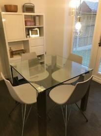 Dining room glass table for sale