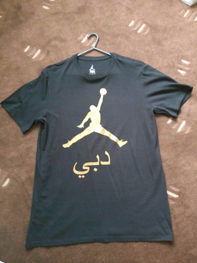 Jordan City Dubai T shirt Exclusive (Mens L)