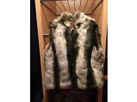 Faux Fur Gilet - size 12