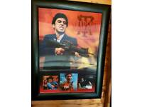 Scarface framed photo
