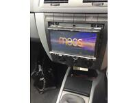 Meso screen cd DVD player for any car