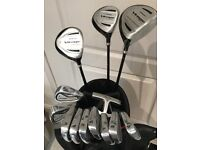 Used Knight golf clubs with golf bag. Ideas as a starter set. Great Christmas gift