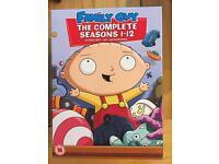 Family Guy 1-12 Box Set DVD