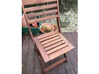 IKEA Garden Table and Four Chairs (almost NEW!)