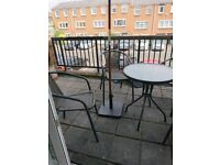 Garden Balcony set table and chairs