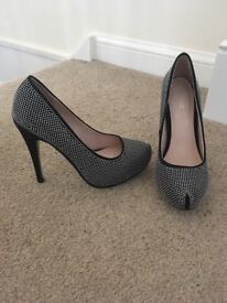 Stunning ladies size 3 high heal shoes from next. Excellent condition - only worn for a short time