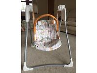 Graco baby swing chair