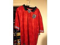 England/USA football shirts