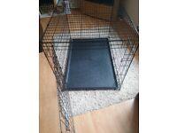 Large dog cage 2 weeks old