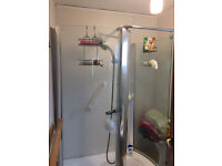 Shower Cabinet with base and thermostatic controls multi jet