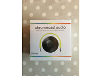 GOOGLE Chromecast Audio system