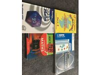 Various Nat 5 maths and other text books