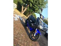 Yamaha aerox 50cc ,fully unrestricted!!