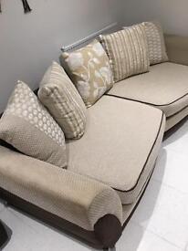 DFS Sofa & Storage Footstool