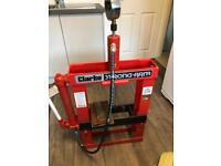 Clarke 10 ton Hydraulic press
