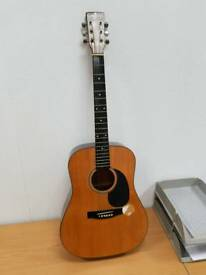 1980's Acoustic Guitar. Playable but needs new strings!