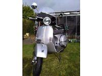 Piaggio Vespa px 125 disc, Silver