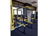 NEW PowerGym Fitness Home Power Rack Cage Squat Gym Exercise Machine