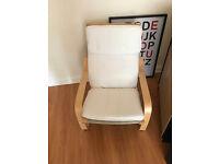 Ikea rocking-style armchair