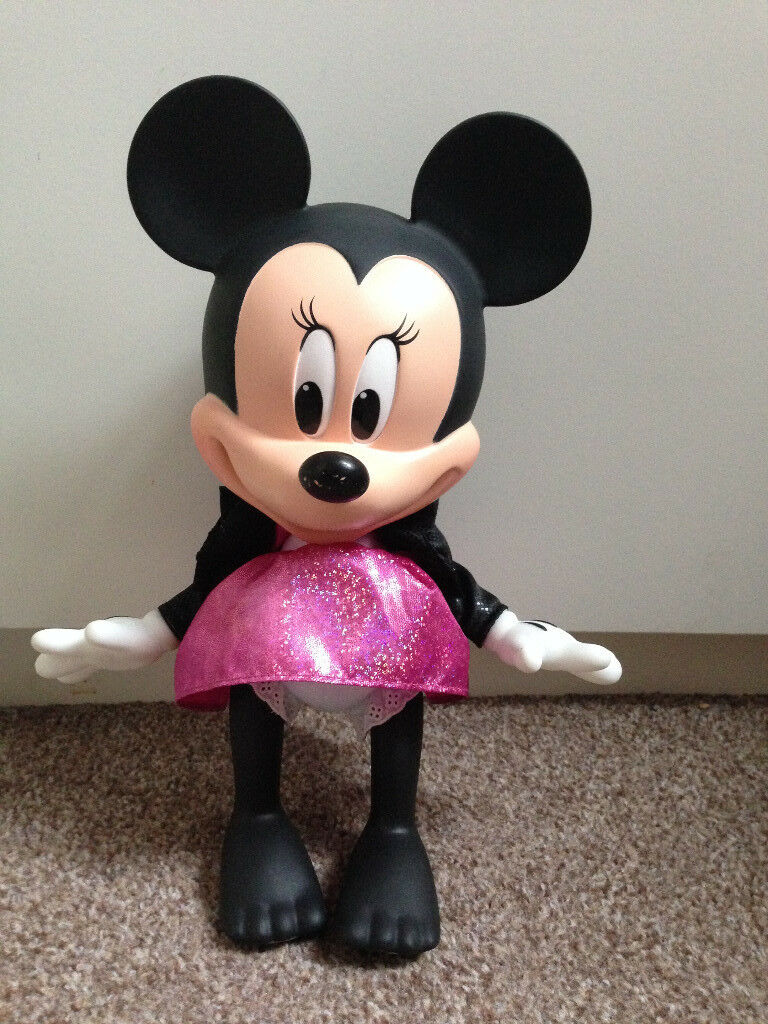 Disney Minnie Mouse Pop Star Singing and Talking Doll