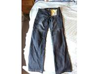 Kevlar jeans for motorcyclist