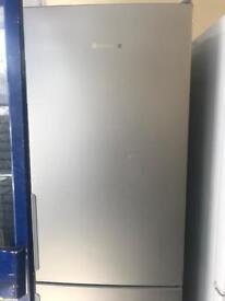 Hotpoint gray big size fridge freezer