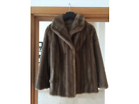 Faux Fur Vintage St Michael (M&S) Jacket Size 14 M (more like 12)