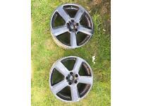 "Genuine Audi wheels 18"" 5x112"