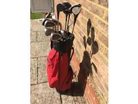 Fazer Golf Bag c/w variety of clubs