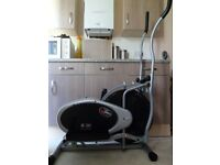 Body Sculpture Air Elliptical Trainer - combines jogging/stepping/cycling