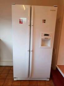 Samsung White American Fridge Freezer