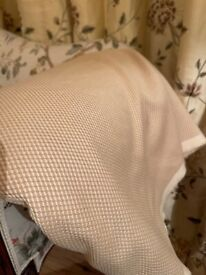 Upholstery fabric 7 meters, in champagne colour
