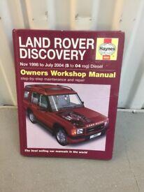 Discovery 2 Haynes Manual