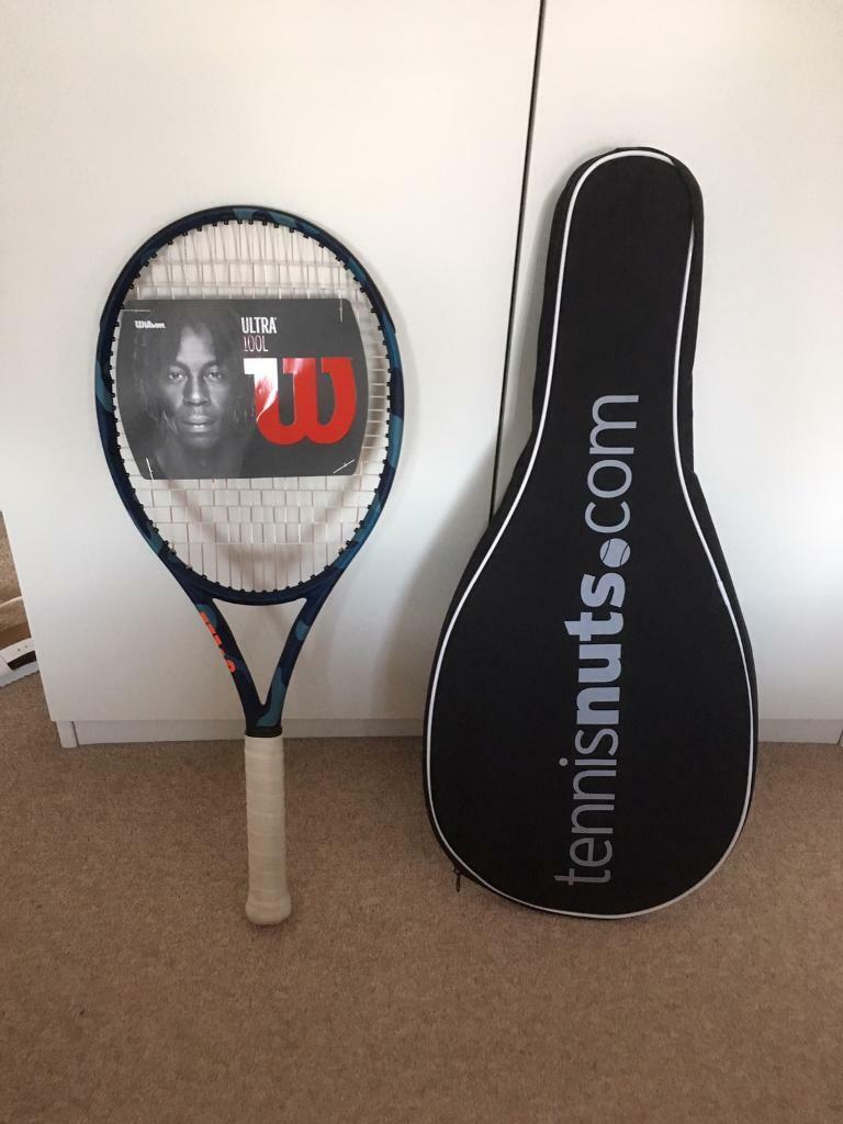 Tennis Racket wilson ultra 100l camo edition grip size 3 | in Hazlemere,  Buckinghamshire | Gumtree