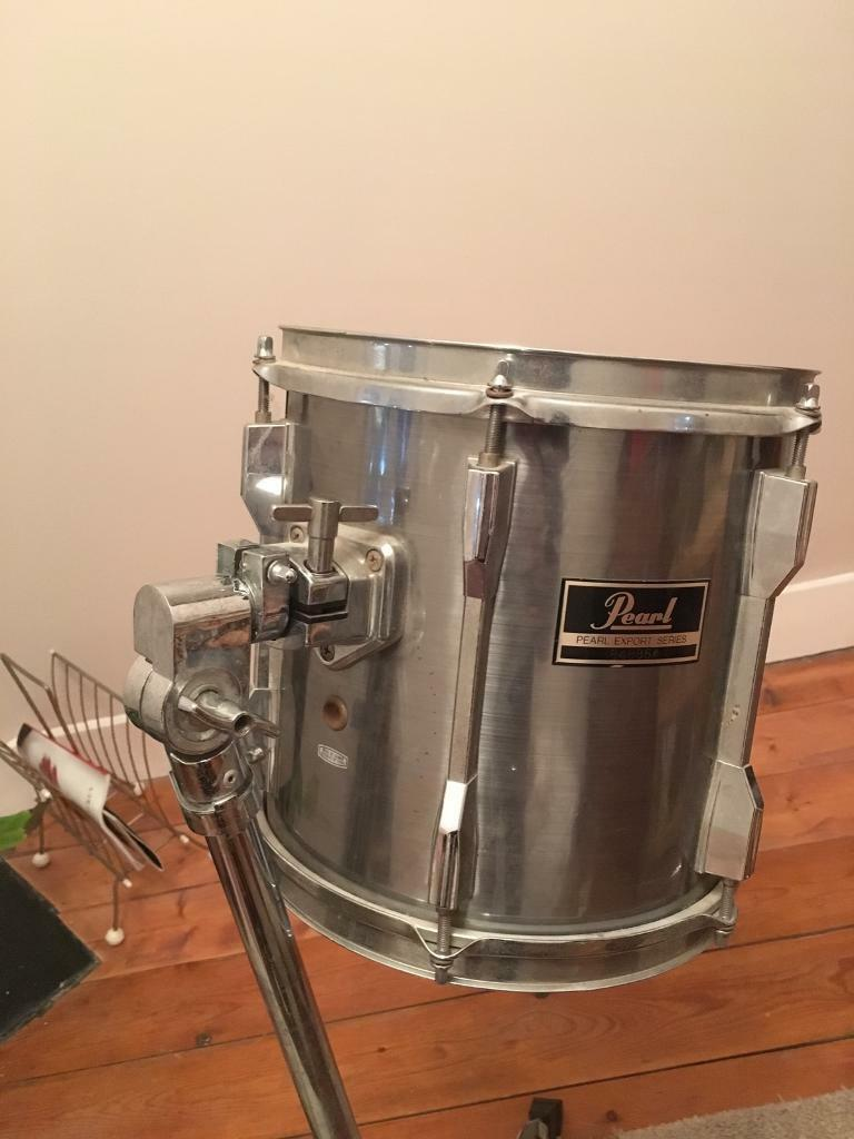 pearl export 10 inch tom drum and stand in norwood london gumtree. Black Bedroom Furniture Sets. Home Design Ideas