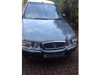 Rover 45 for sale, spares or repair