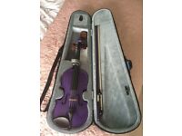Stentor purple harlequin 3/4 violin RRP £140