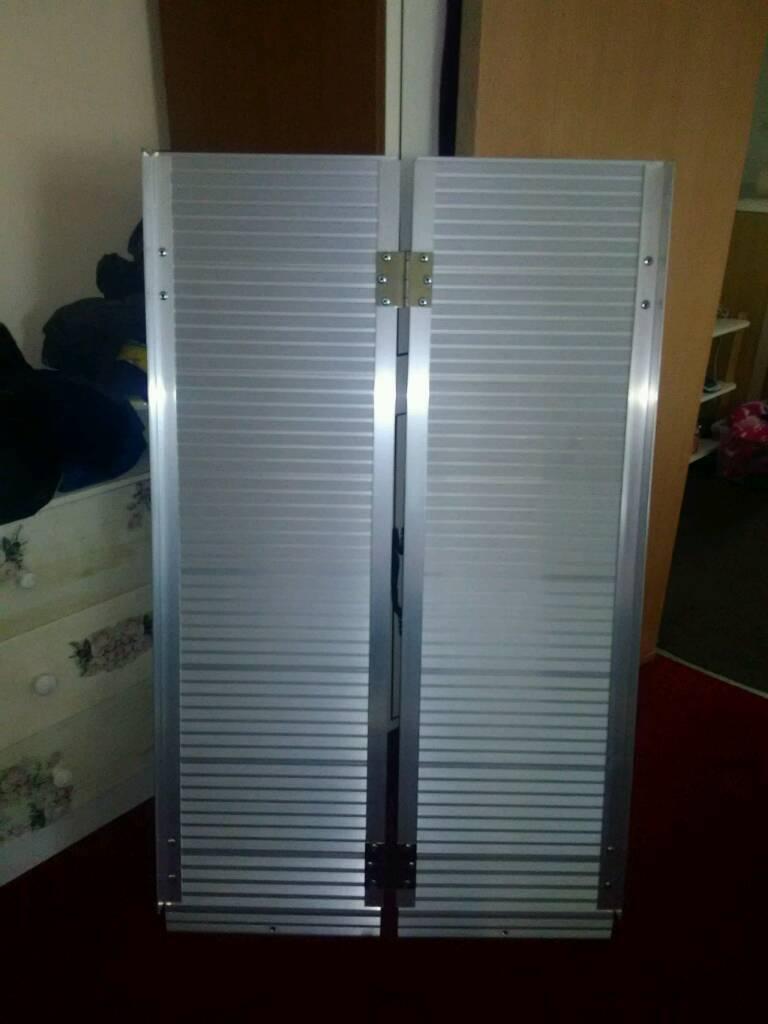 4ft aluminium ramps