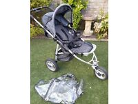 Quinny Speedi with raincover. great for all terrain