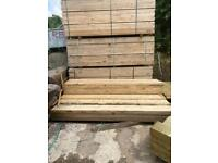 New ~ Wooden Scaffold Boards ~ 2.4M