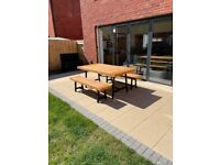 6 Seater garden bench and table set - BRAND NEW IN BOX (opened)