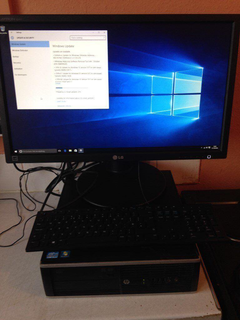HP Compaq 8200 Elite & 24