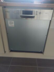 Bosch semi-integrated Dishwasher