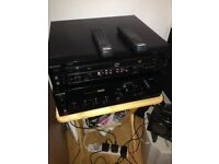 Sony Amp and twin CD player